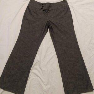 Maurices Three Button Wide Leg Dress Pants